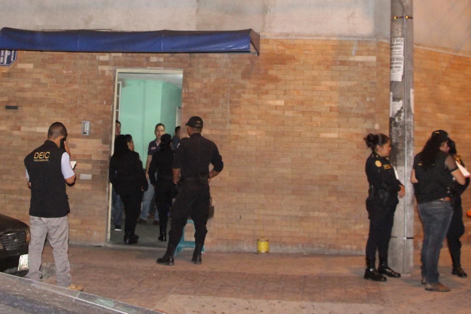 Un menor de edad fue remitido por las autoridades. (Foto: PNC)