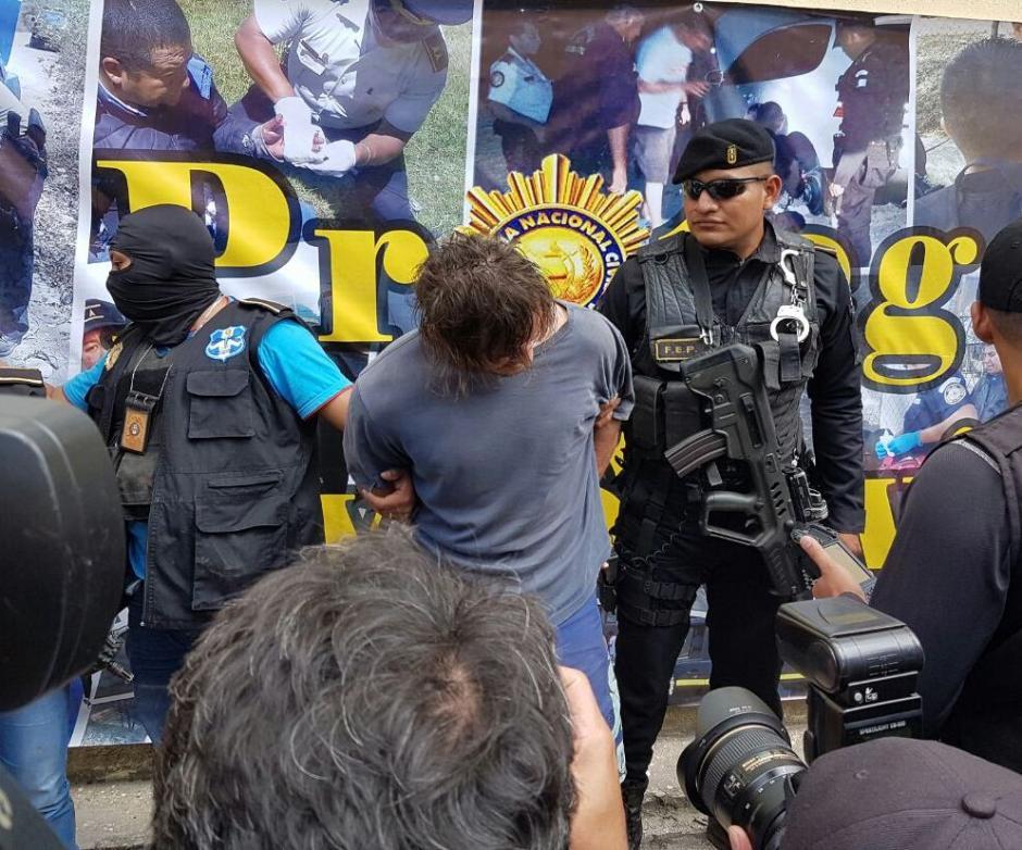 Fue capturado casi ocho años después por la PNC. (Foto: PNC)