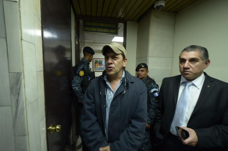 Armando Aguirre Palencia, de la compañía Trheesome, también fue trasladado al centro carcelario. (Foto Jesús Alfonso/Soy502)