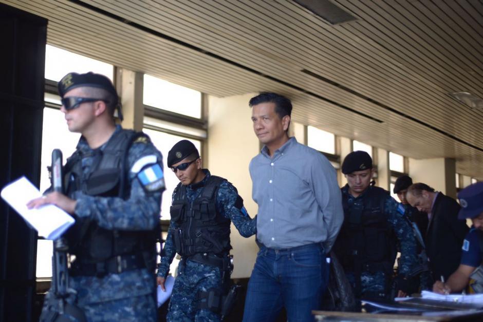 Entre los capturados figura el exdirectivo del banco, Eduardo José Liu Yon. (Foto Jesús Alfonso/Soy502)