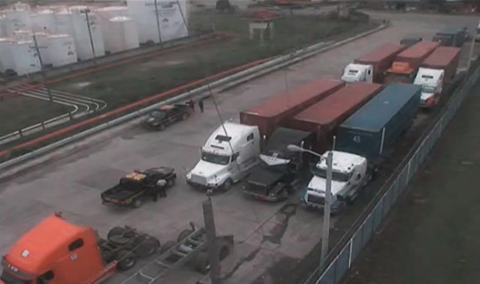 No se descarta continuar con este tipo de operaciones coordinadas para garantizar el transporte de mercancía. (Foto: Soy502)