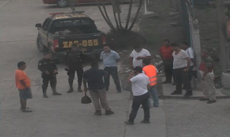 Con coordinación de la PNC se han logrado transportar mercancías.  (Foto: Soy502)