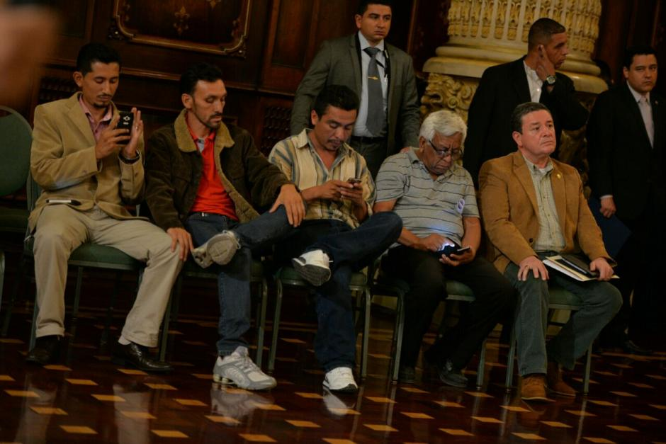 Los transportistas no rechazaron la posibilidad de volver al paro si no se soluciona la crisis. (Foto: Wilder López/Soy502)