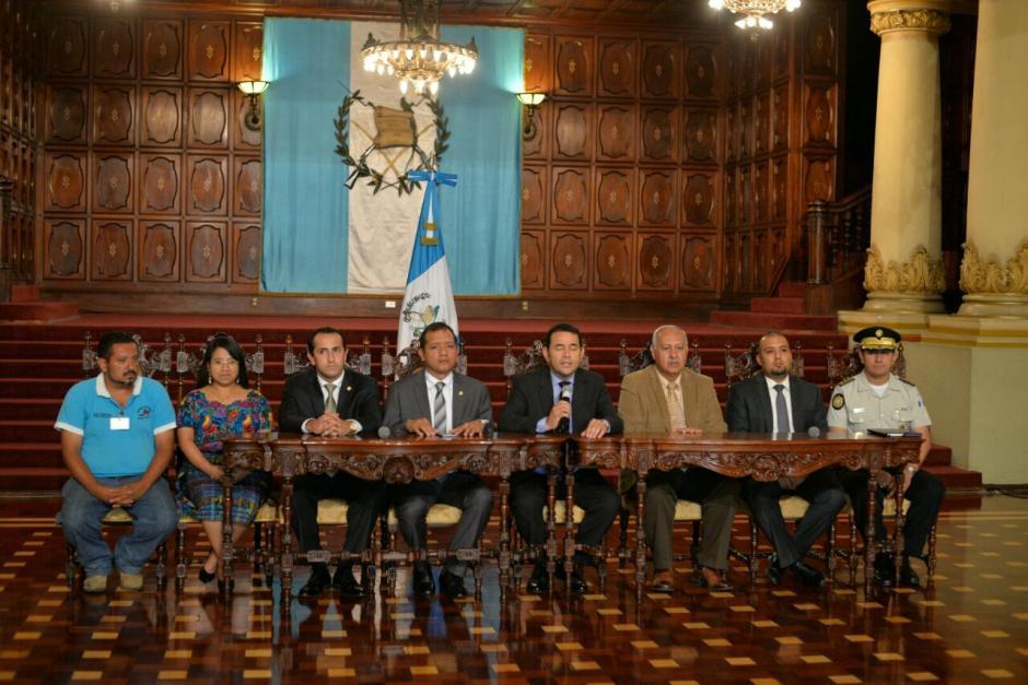 En la reunión participaron varios ministerios e instituciones. (Foto: Wilder López/Soy502)