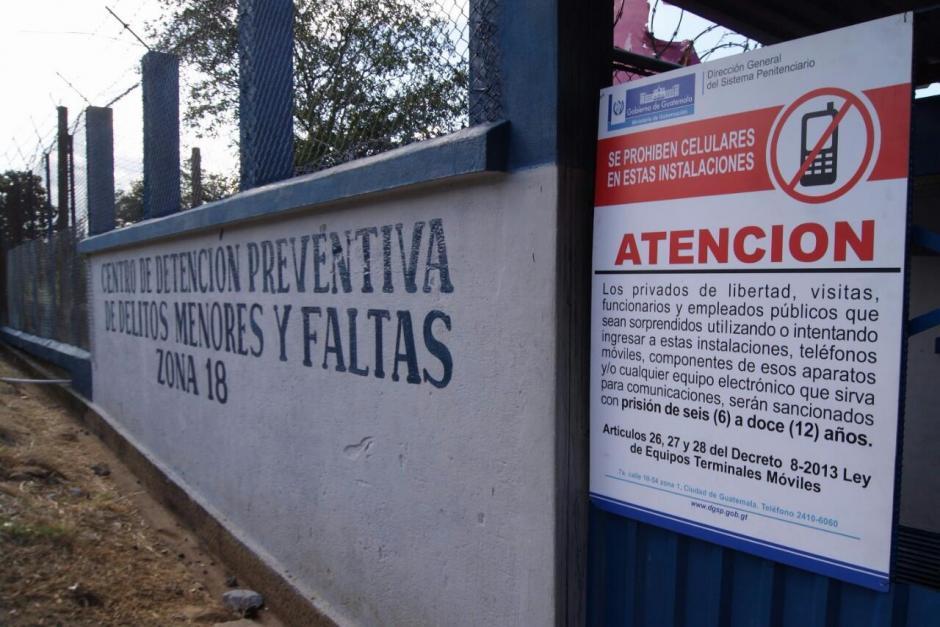 El intento de motín se registró en el Centro de Detención Preventiva de Delitos Menores. (Foto: DGSP)
