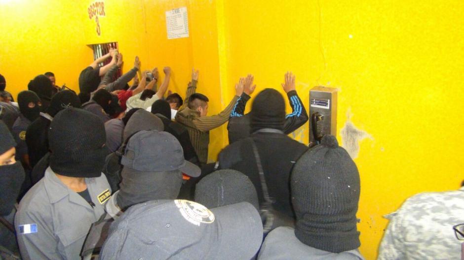 Tras la alteración del orden, se efectuó una requisa en el centro de detención. (Foto: DGSP)