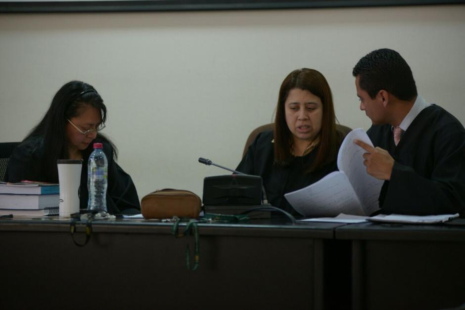 Tribunal Noveno de Instancia Penal decidió suspender la audiencia. (Foto: Wilder López/Soy502)