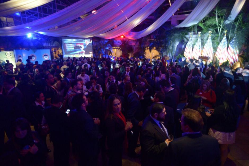 Guatemala vivió la noche electoral de EE.UU. (Foto: Wilder López/Soy502)