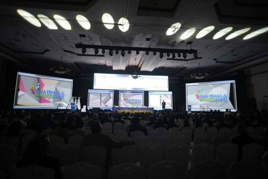 En el evento se presentará un portafolio de más de 100 proyectos para el país. (Foto: Wilder López/Soy502)