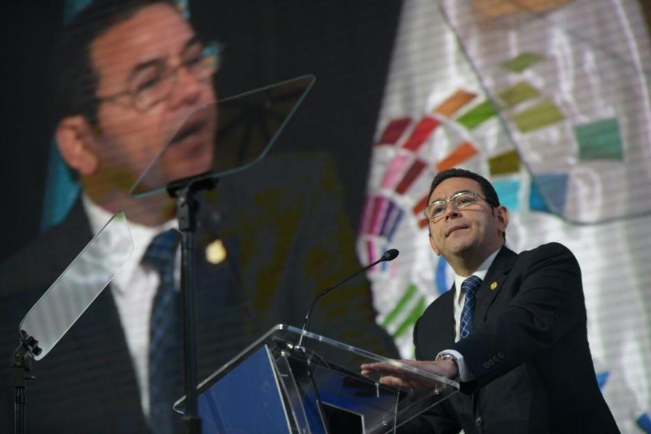 En este año se han presentado varias solicitudes de antejuicio contra Morales. (Foto: Wilder López/Soy502)