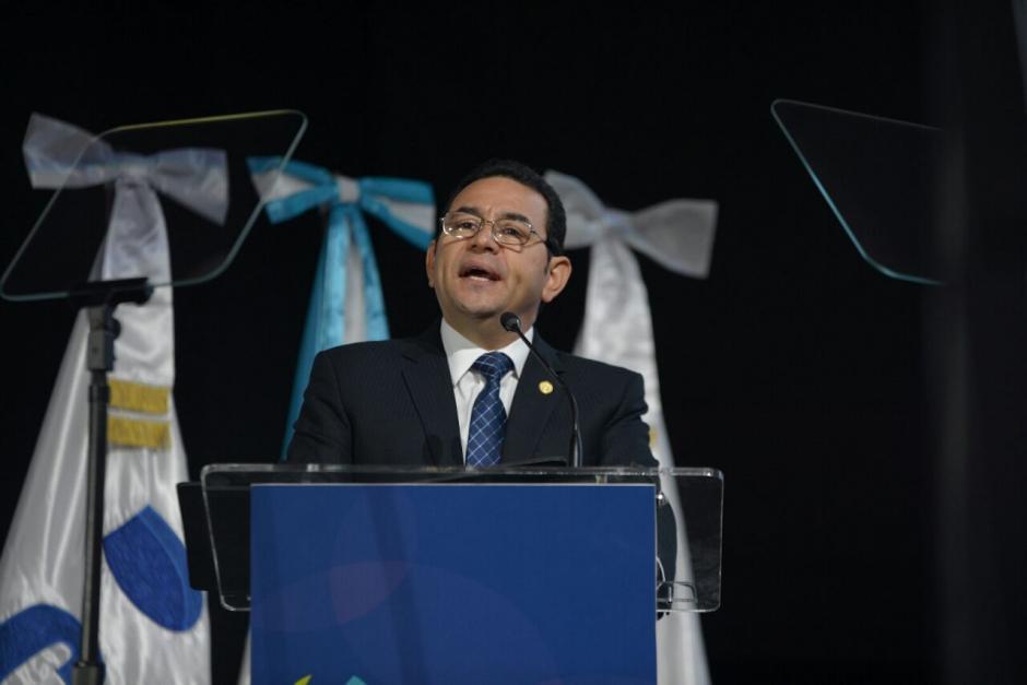 Morales destacó que el país vive un buen clima de negocios. (Foto: Wilder López/Soy502)