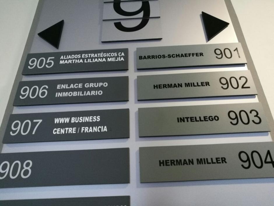 La sede de Intellego, S.C. Guatemala se encuentra en un edificio de la zona 10. (Foto: Wilder López/Soy502)