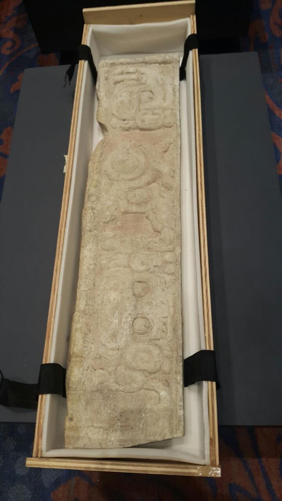 Una vez en el país serán exhibidas en el Museo de Arqueología y Etnología. (Foto: Presidencia)