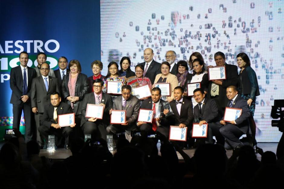 Los Maestros recibieron un premio de 10 mil quetzales. (Foto:  Alejandro Balán/Soy502)