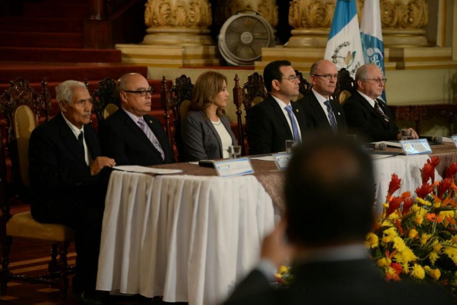 Estas declaraciones se hicieron en la firma de un convenio entre la Sosep y la Asociación Bautista. (Foto: Wilder López/Soy502)