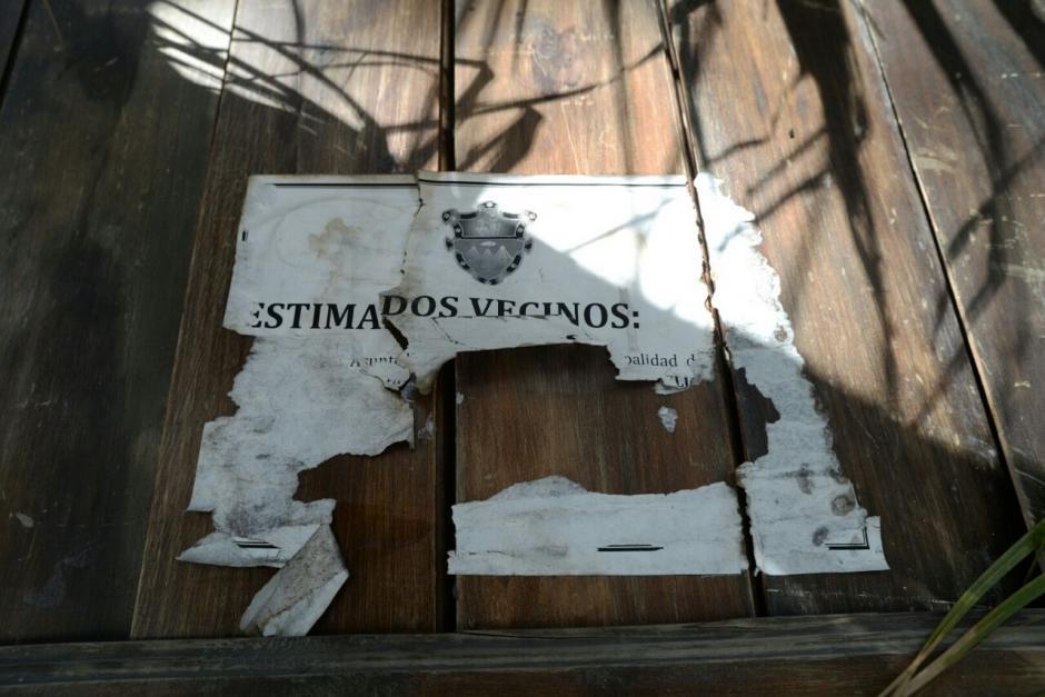 El Juzgado de Asuntos Municipales lo declaró Inhabitable.  (Foto: Wilder López/Soy502)