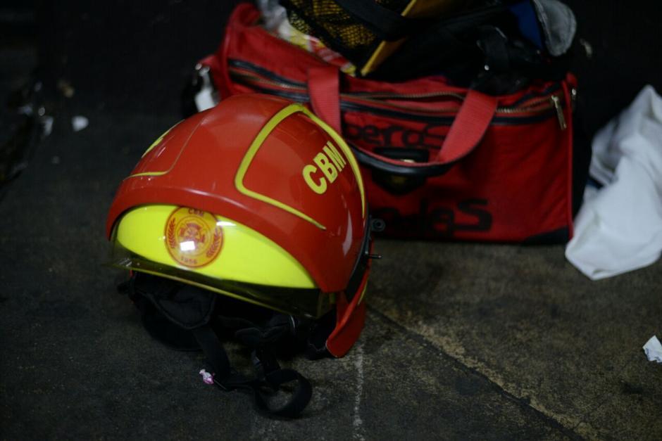 El hombre tenía un casco reportado como robado. (Foto: Wilder López/Soy502)