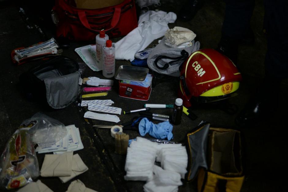 Tenía también un botiquín reportado como robado. (Foto: Wilder López/Soy502)