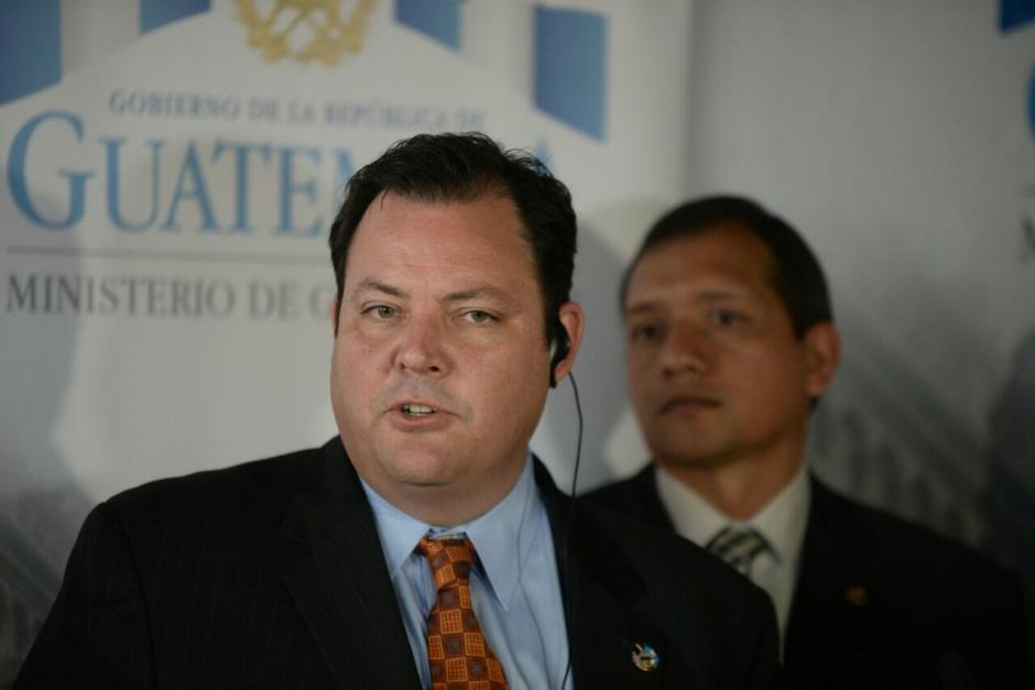 Seth Stodder es Subsecretario de Seguridad Nacional para las Fronteras, Inmigración y Política de EE.UU. (Foto: Wilder López/Soy502)
