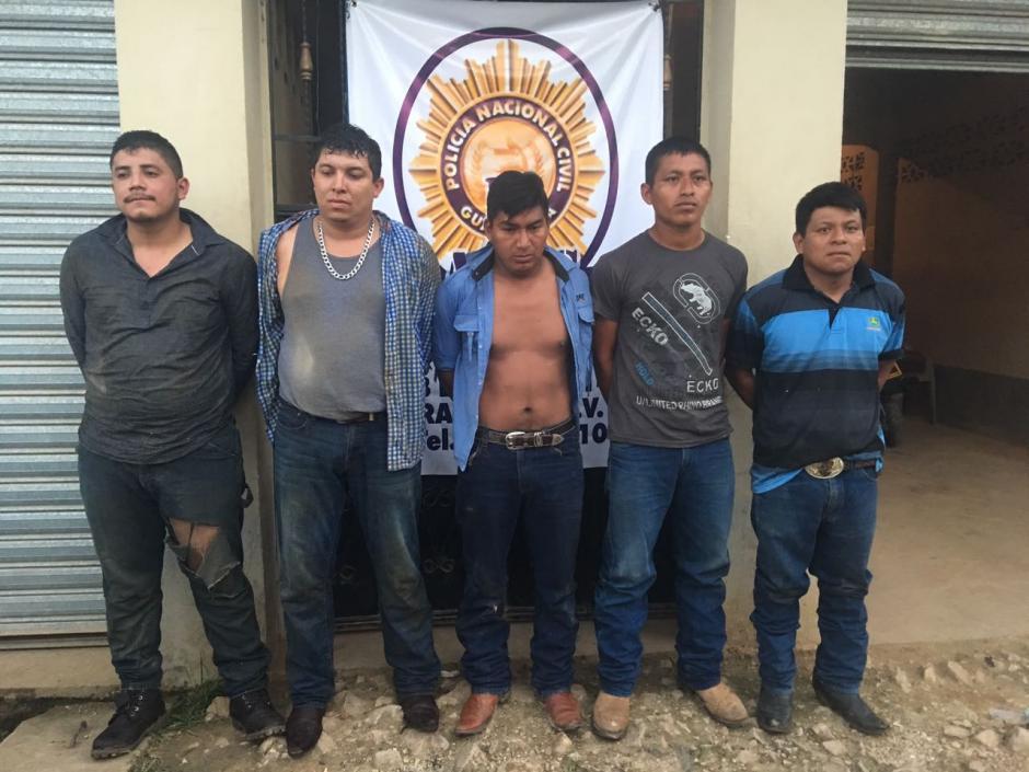 """""""Los Chihuahuas"""" eran una banda dedicada al secuestro. (Foto: PNC)"""