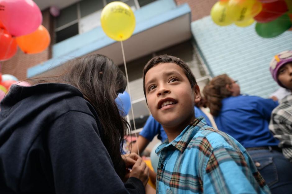 Los niños disfrutaron de varias actividades para celebrar la navidad. (Foto: Wilder López/Soy502)