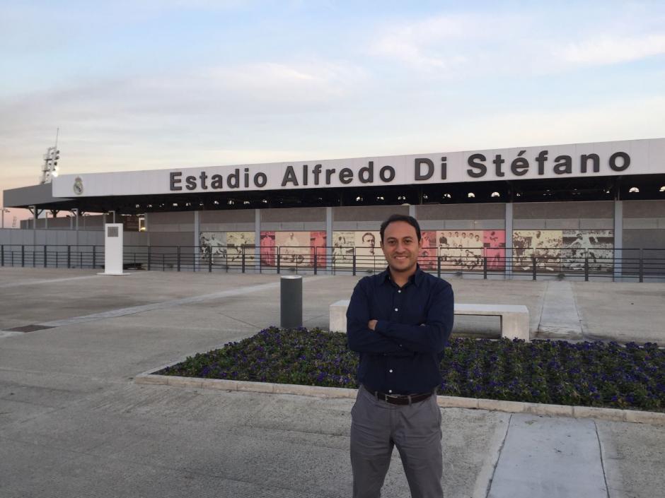 Roldán se incorporó al Departamento de Análisis del club blanco. (Foto: Juan Francisco Roldán)