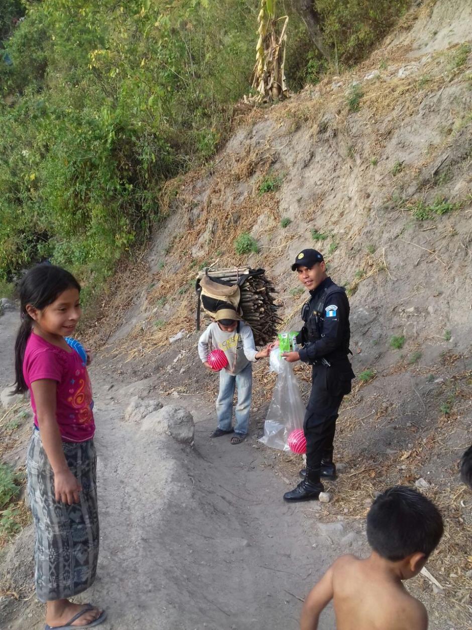 Estas acciones forman parte del nuevo modelo de Policía Integral Comunitaria. (Foto: Policía Nacional Civil)