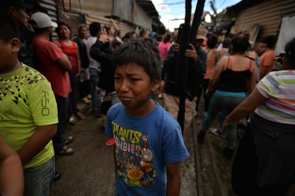 La familia de Myrna llevaba siete años en la casa que ahora perdieron. (Foto: Wilder López/Soy502)