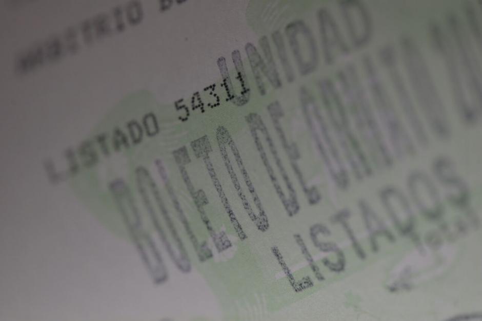 Debes adquirir el boleto de ornato para realizar trámites oficiales. (Foto: Wilder López/Soy502)