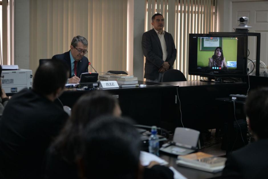 El Juzgado C de Mayor Riesgo autorizó que Roitman participe en la audiencia a través de videoconferencia. (Foto: Wilder López/Soy502)