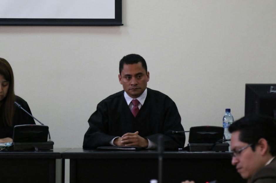 Carlos Ruano, juez vocal del Tribunal Noveno de Sentencia, denunció a Stalling. (Foto: Alejandro Balán/Soy502)