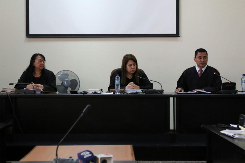 En este momento el juicio por el caso IGSS-Pisa se suspendió. (Foto: Alejandro Balan/Soy502)