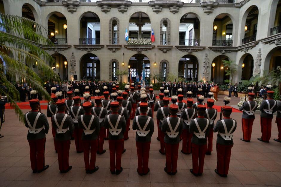 Hace unos meses, el presidente saliente visitó Guatemala. (Foto: Wilder López/Soy502)