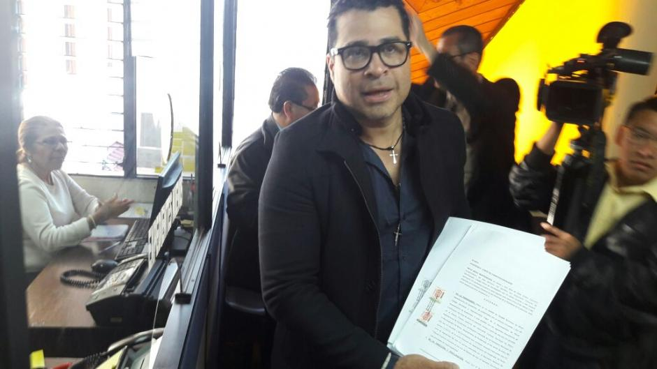 Bran presentó un recurso de amparo en la Corte de Constitucionalidad. (Foto: Municipalidad de Mixco)