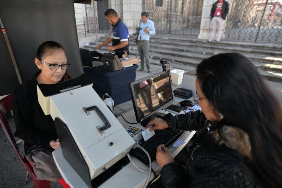 Las jornadas móviles estarán hasta el 3 de febrero. (Foto: Wilder López/Soy502)