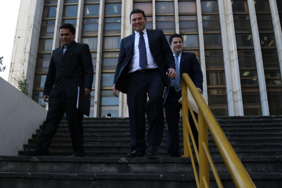También se presentó ante el juzgado que conoce su caso, pero no se le notificó si su declaración será recibida. (Foto: Jesús Alfonso/Soy502)