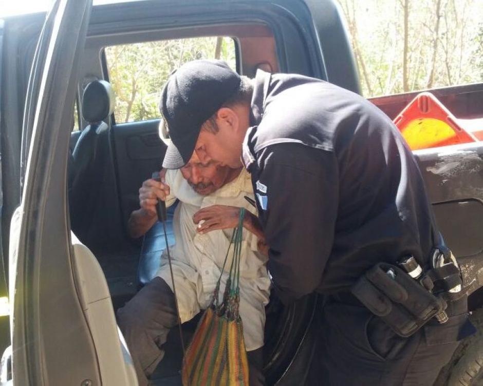 Lo llevaron a su casa a 10 kilómetros de dónde se encontraba. (Foto: PNC)