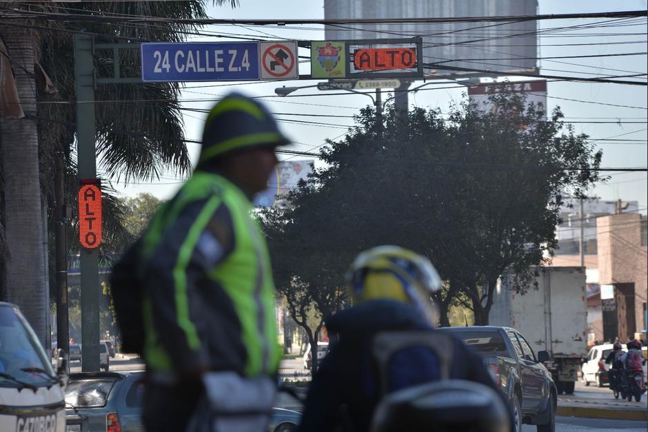 El semáforo estará a prueba hasta que termine el mes de enero. (Foto: Wilder López/Soy502)