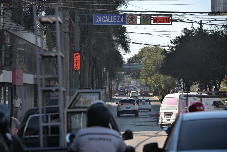Se encuentra ubicado en el cruce de la 24 calle con la 6 avenida de la zona 4. (Foto: Wilder López/Soy502)