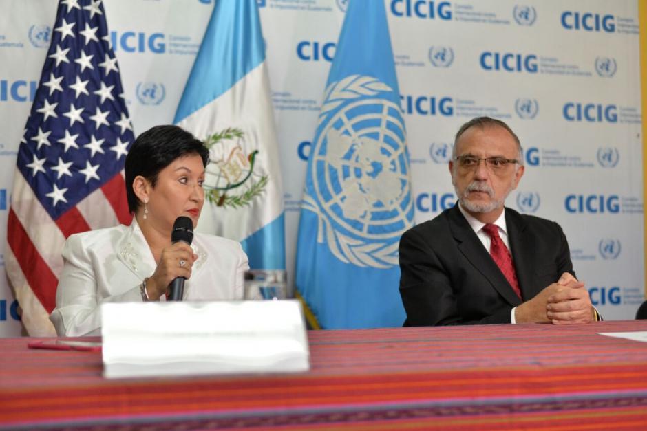 La fiscal Aldana agradeció el apoyo de EE.UU. en la lucha contra la corrupción.  (Foto: Wilder López/Soy502)