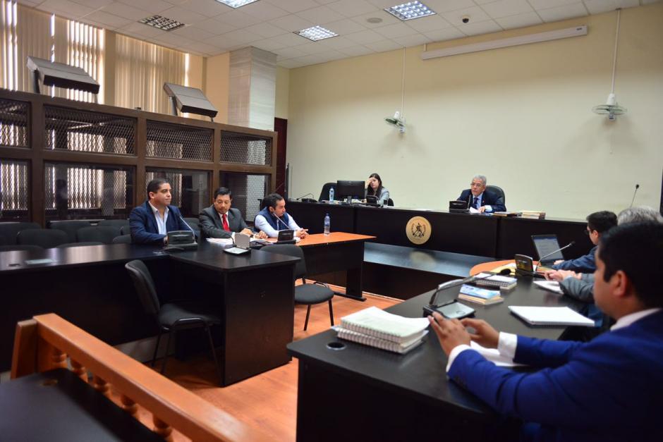 Monzón oficializó el segundo acuerdo de colaborador eficaz. (Foto: Jesús Alfonso/Soy502)