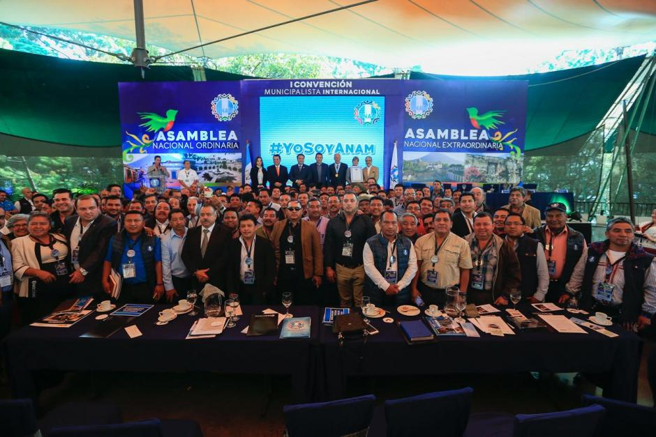 Se celebró la asamblea ordinaria de la Anam. (Foto: Gobierno)