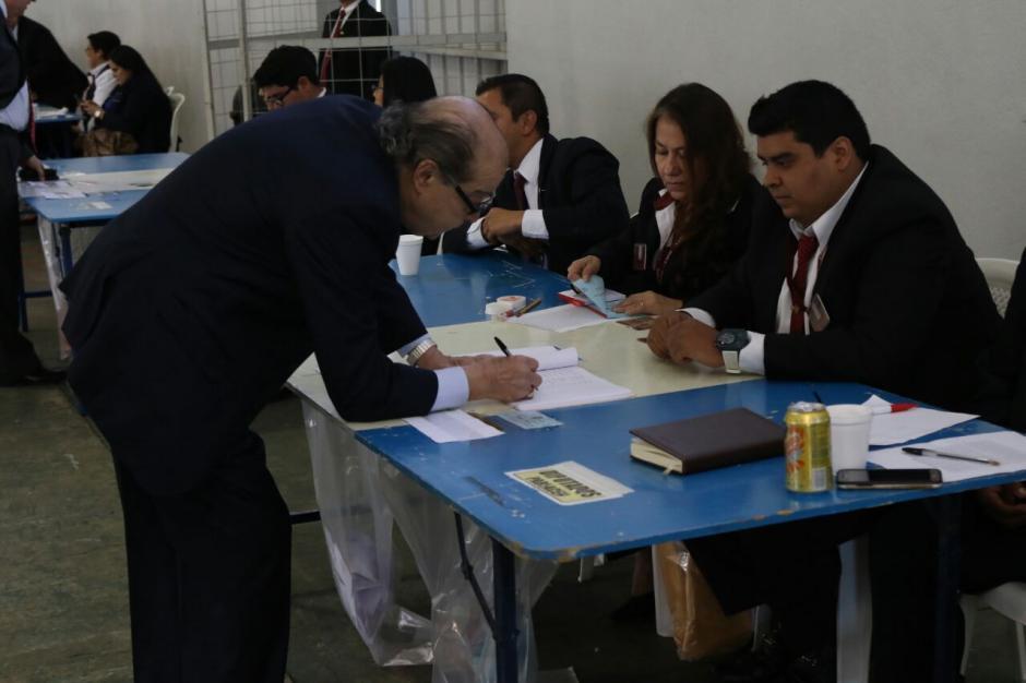 Los abogados votaron en la capital y el interior del país. (Foto: Alejandro Balam/Soy502).