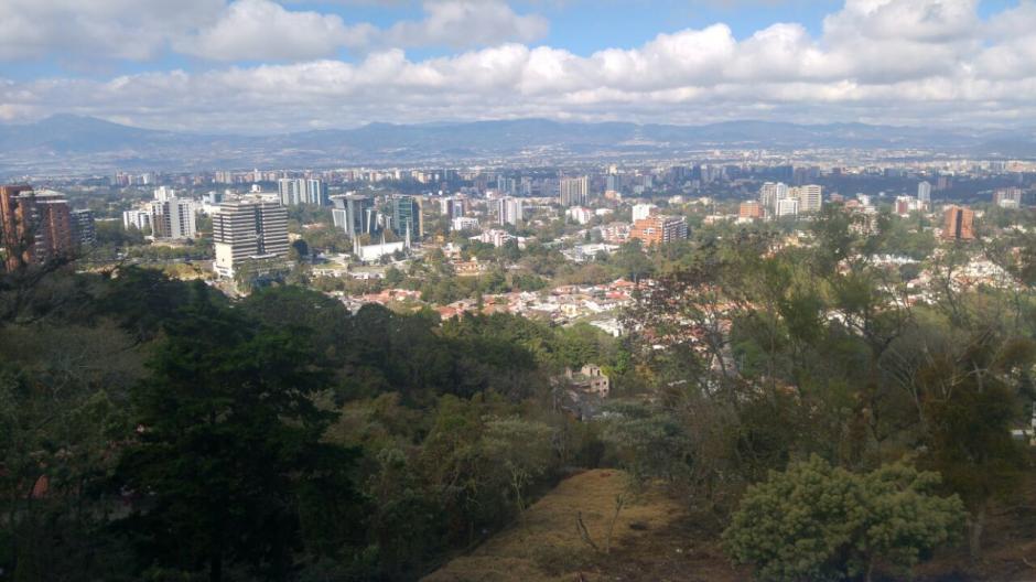 Esta es la vista desde el inmueble propiedad de Juan Carlos Monzón. (Foto: MP)