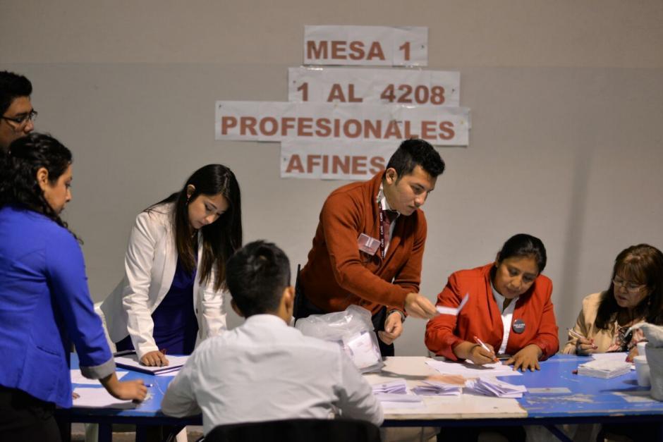 Las urnas cerraron a las 18.00 horas.  (Foto: Wilder López/Soy502)