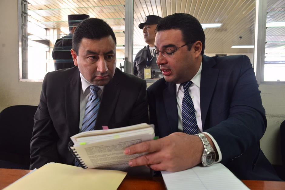 Walter Vásquez, exdirector de la PNC, fue beneficiado con arresto domiciliar luego de pagar una fianza de 100 mil quetzales. (Foto: Jesús Alfonso/Soy502)