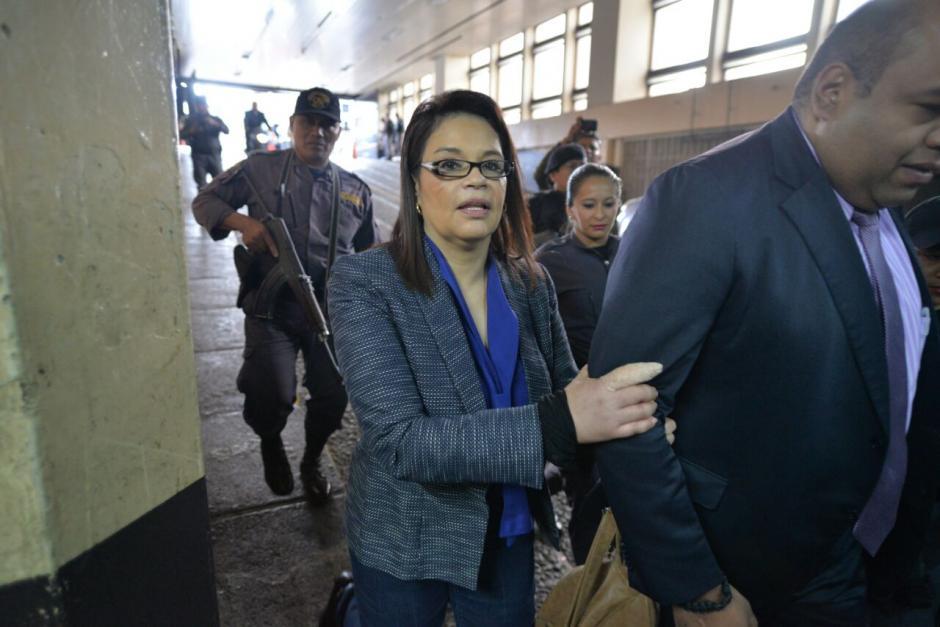 Baldetti había evitado asistir a Tribunales al argumentar amenazas de muerte. (Foto: Wilder López/Soy502)