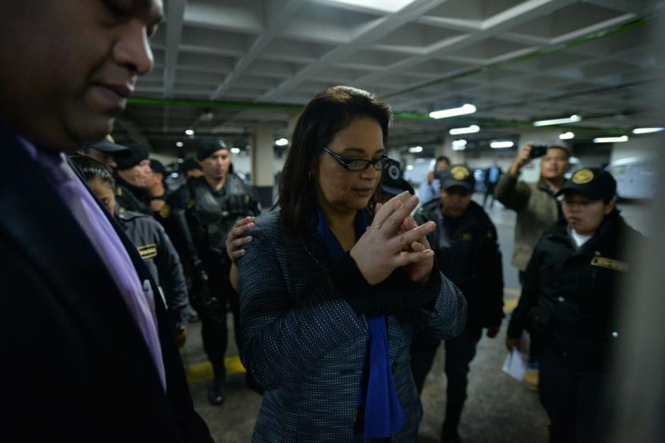 Había comparecido en otras audiencias de forma remota, es decir, por videoconferencia. (Foto: Wilder López/Soy502)