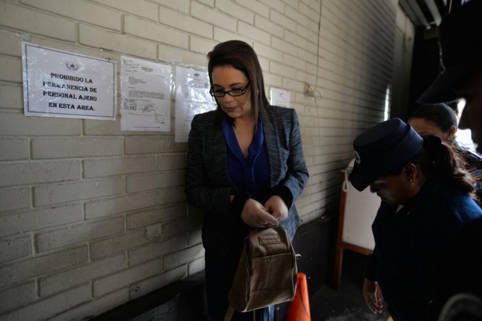 El juez Miguel Ángel Gálvez obligó a Roxana Baldetti a comparecer en el caso La Línea. (Foto: Wilder López/Soy502)
