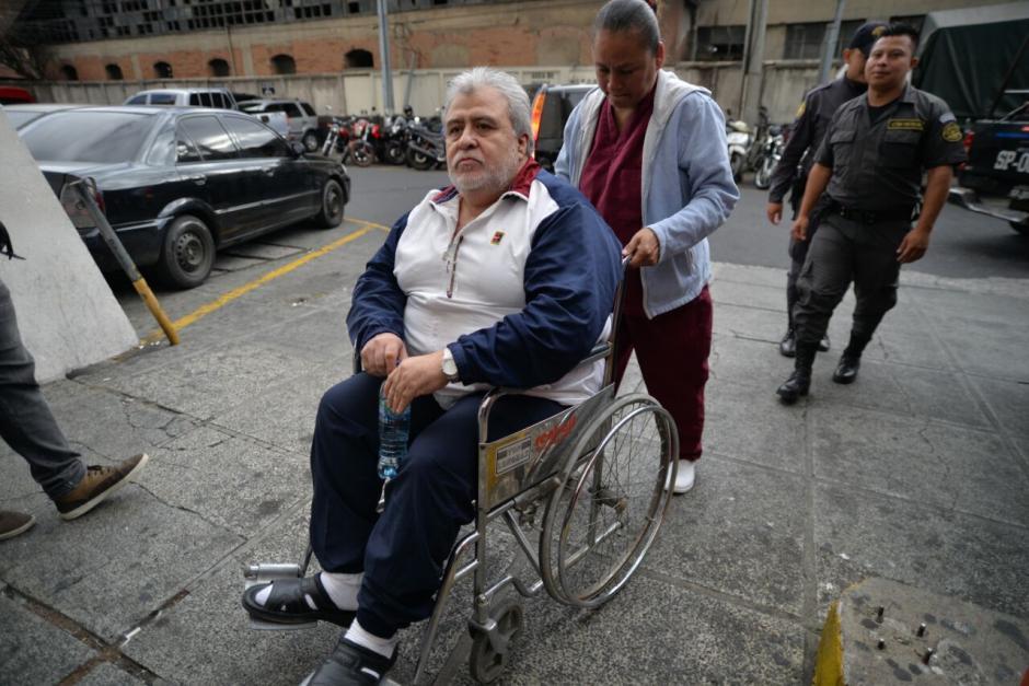 Francisco Javier Ortíz, alias el Teniente Jeréz, fue trasladado por este mismo caso. (Foto: Wilder López/Soy502)